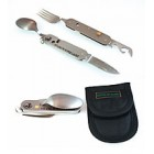 KNIVES OF ALASKA Titanium Utensil Set