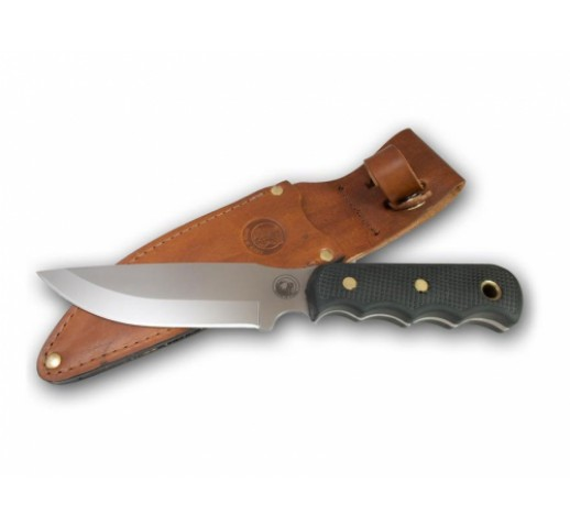 KNIVES OF ALASKA Bush camp knife, D2 steel, suregrip handle
