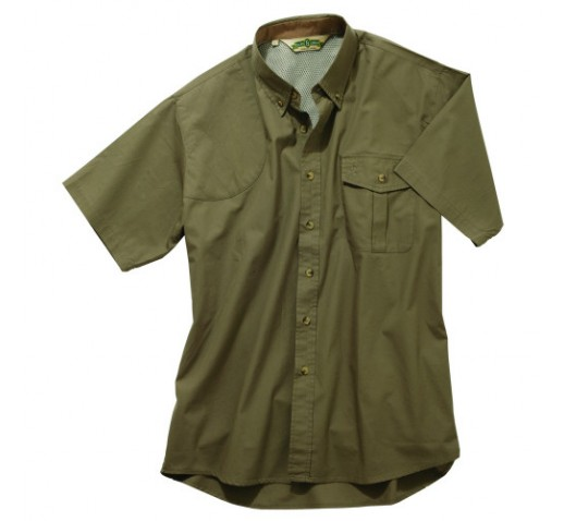 BOB ALLEN Vented Mesh-Back Shooting Shirt