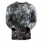 SITKA GEAR core crew long sleeve forest Small