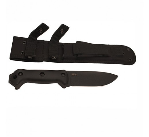 KA-BAR Bk22 Becker Bk2 With Polyester Sheath