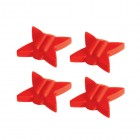 TRUGLO Tb String Silencers Red 4Pk