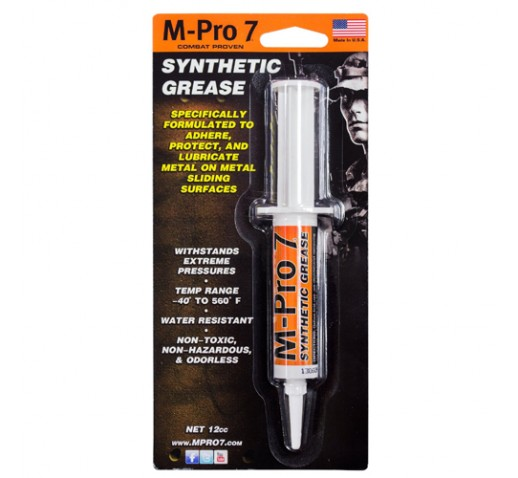 HOPPES M-Pro 7 Synth Grease, 0.5 .oz syringe,CP