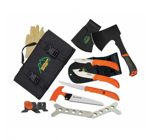 OUTDOOR EDGE CUTLERY CORP The Outfitter (Hunting Set) - Box
