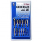 GUNMASTER 13 Piece Solid Brass Jag Set
