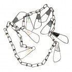 "EAGLE CLAW 46"" 9 Snap Chain Stringer 1pc"