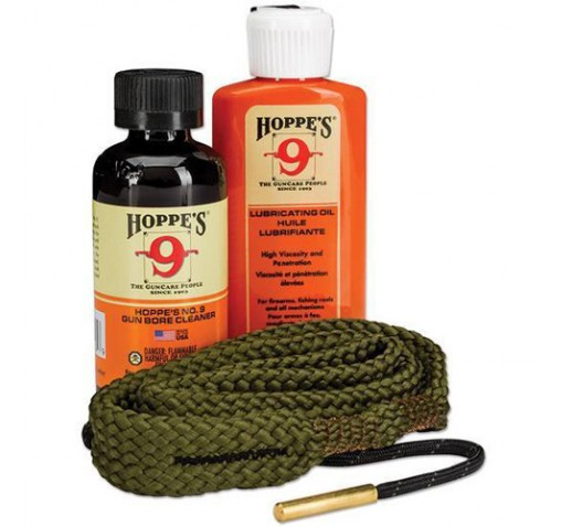 HOPPES 45 Caliber Pistol Cleaning Kit, Clam