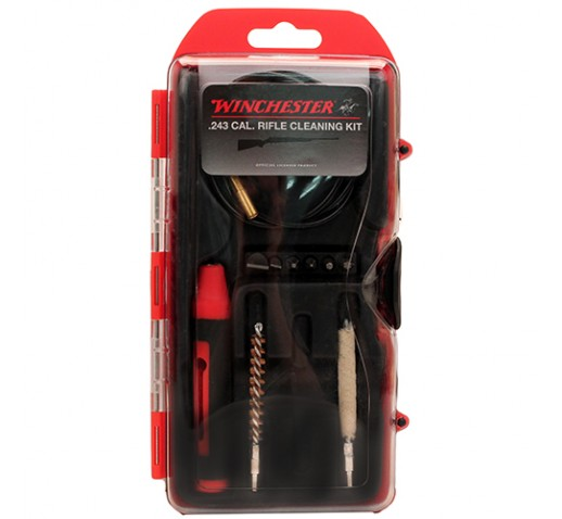 WINCHESTER CLEANING KITS Winchestr 12 PC .243 Cal Rifle CK&6pc DBS