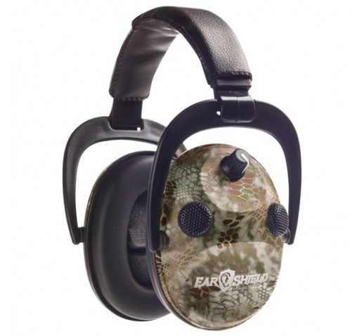 DO-ALL TRAPS Earshield Quad Muff W/Aft Kryptek Hilndr