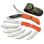 OUTDOOR EDGE CUTLERY CORP Razor-Pro/Saw Combo (Orange) - Clam