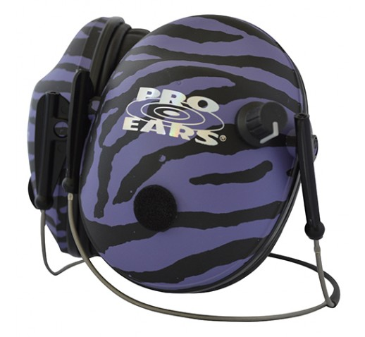 Pro 200 Purple Zebra, Behind the Head