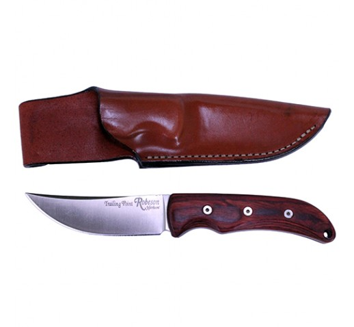ONTARIO KNIFE COMPANY Robeson Heirloom-Trailing Point Hunter