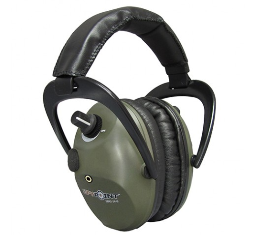 Spypoint Electronic Ear Muffs,Green Army
