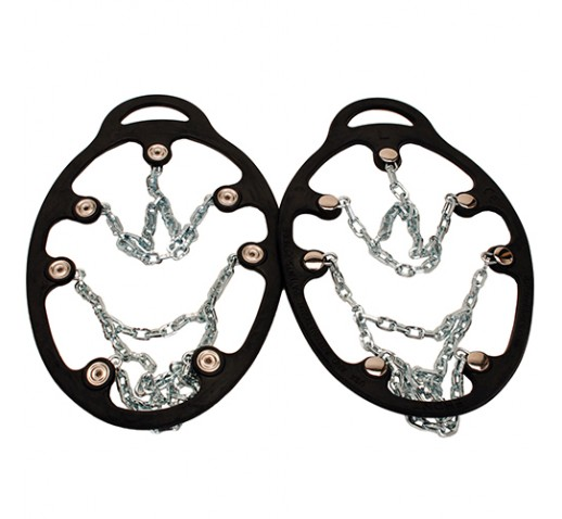 YAKTRAX Chains Ice Trekkers, Black, Medium