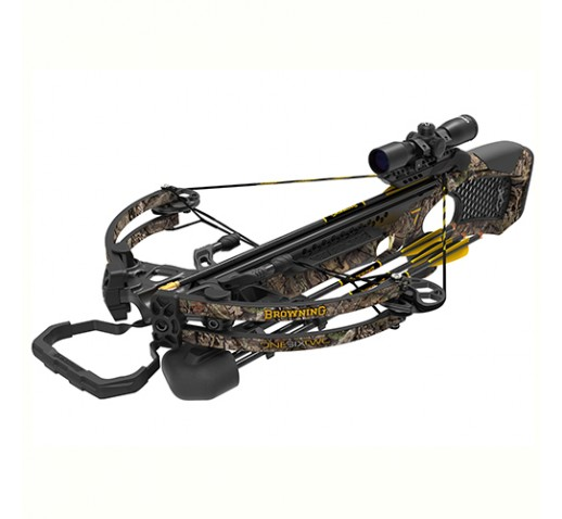 BROWNING CROSSBOWS Zero 7-Model 162,370fps,CCD,Scp,TC,3Arrws