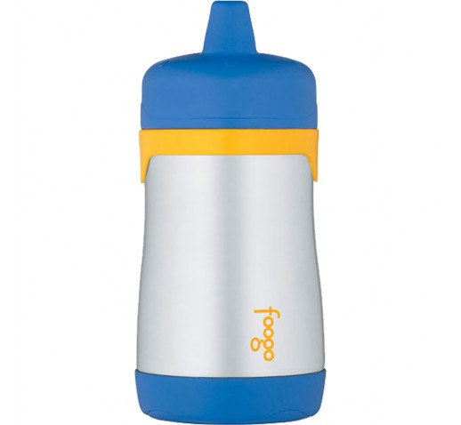 Thermos Foogo Vacuum Insulated Hard Spout Sippy Cup - 10oz - Blue