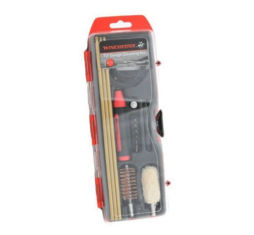 WINCHESTER CLEANING KITS 16 PC. 12 ga. Hybrid Cleaning Kit