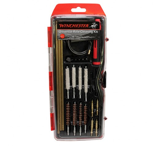 WINCHESTER CLEANING KITS 26 pc Universal Hybrid Rifle Cleaning Kit