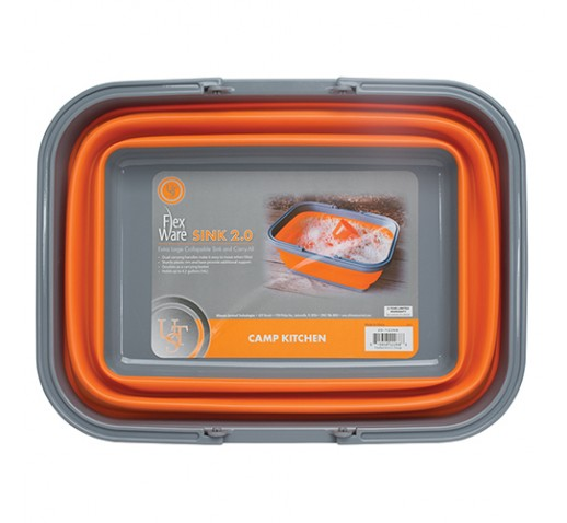 ULTIMATE SURVIVAL TECHNOLOGIES FlexWare  Sink 2.0 Orange